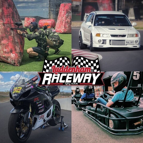 Go Karting Penrith at Luddenham Raceway NSW
