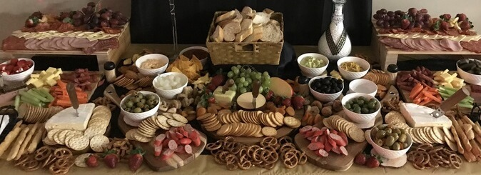 Aussie Grown Penrith Catering Grazing Table