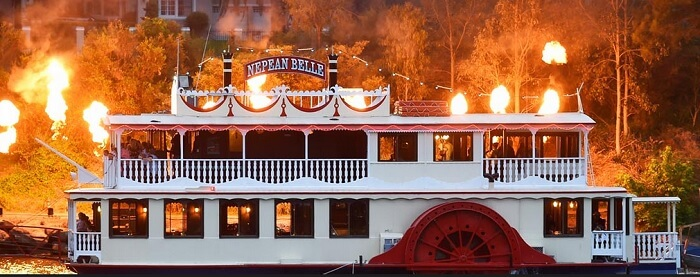 Nepean Belle Cruises Penrith NSW Sydney